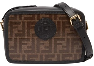 Fendi Camera Case Mini Camera Ff Logo Camera Cross Body Bag