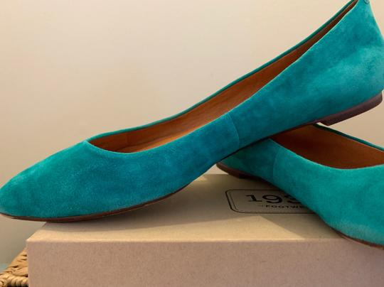 Madewell Emerald Suede Flats Image 1