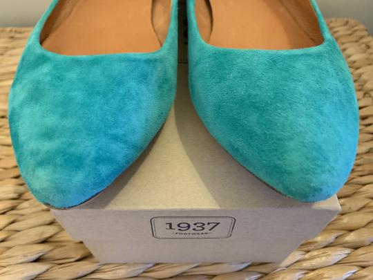 Madewell Emerald Suede Flats Image 10