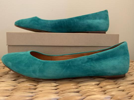 Madewell Emerald Suede Flats Image 2