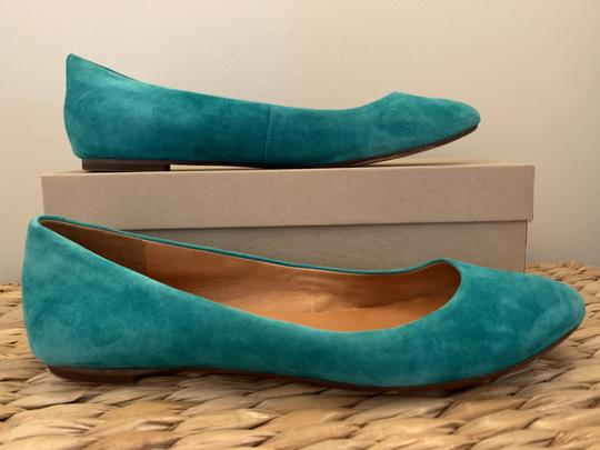Madewell Emerald Suede Flats Image 3