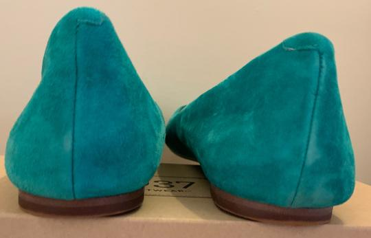 Madewell Emerald Suede Flats Image 4
