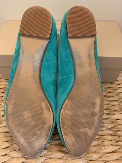 Madewell Emerald Suede Flats Image 6
