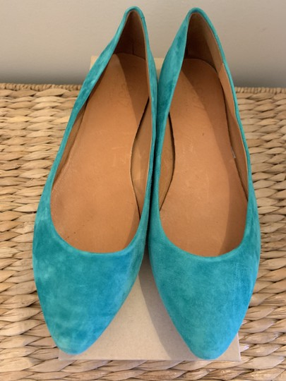 Madewell Emerald Suede Flats Image 7