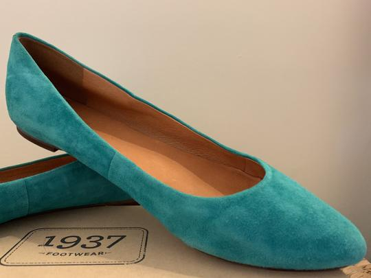 Madewell Emerald Suede Flats Image 9