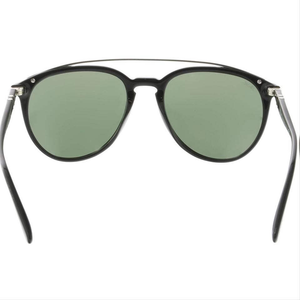 9ffe0f8ab4 Persol Black Frame   Po3159s 901431 Aviator Square Style Unisex ...