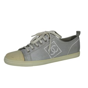 Chanel Metallic Silver Athletic