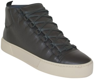 Balenciaga Gucci Boots Leather Boots Ankle Boots Mens Boots Gucci Mens Boots Dark Grey Athletic