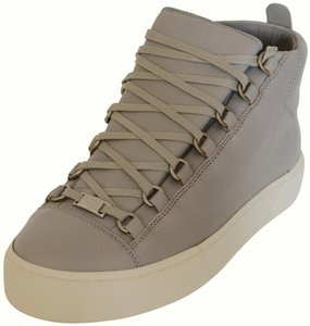 Balenciaga Gucci Boots Leather Boots Ankle Boots Mens Boots Gucci Mens Boots Light Grey Athletic