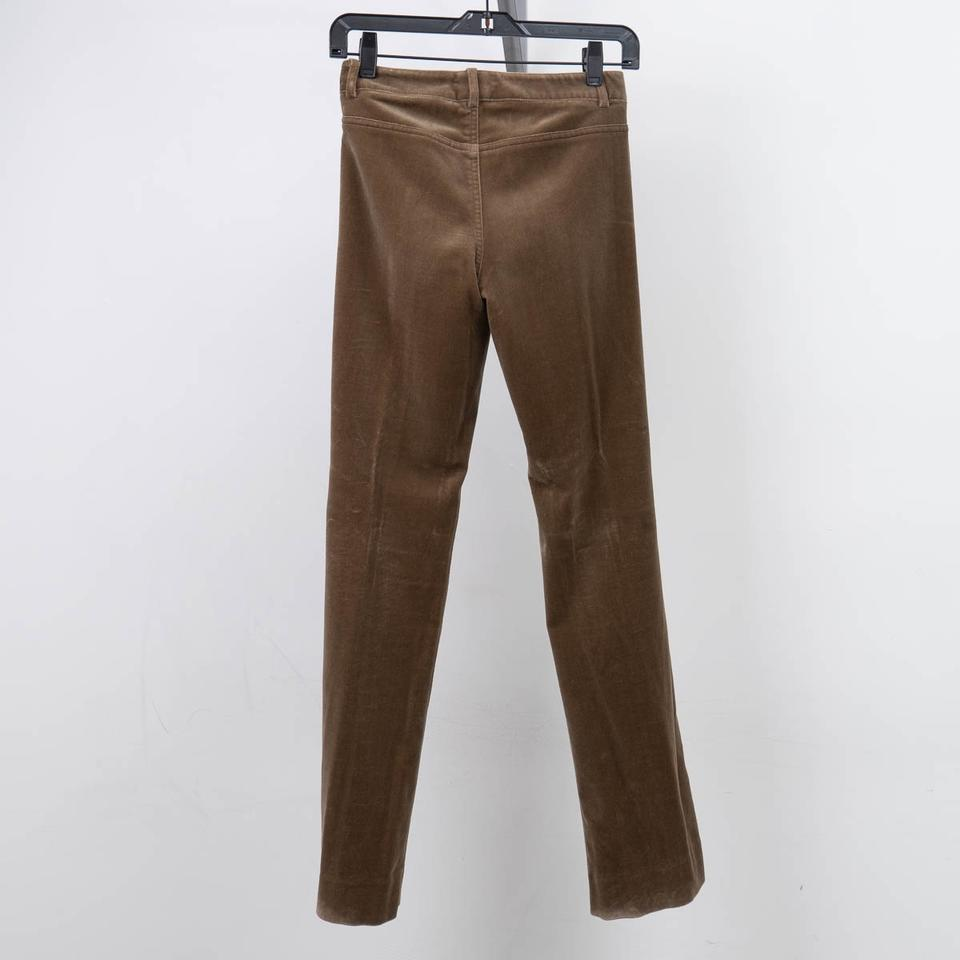 Theory Tan/Olive Casual Vellore Pants Straight Leg Jeans Size 24 (0, XS)  84% off retail