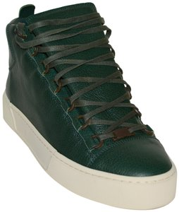 Balenciaga Gucci Boots Leather Boots Ankle Boots Mens Boots Gucci Mens Boots Dark Green Athletic