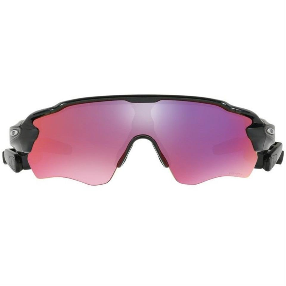 4090bf95995 Oakley Black Frame   Prizm Road Lens Unisex Sports Sunglasses - Tradesy