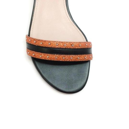Lanvin Orange Metallic Sandals Image 4