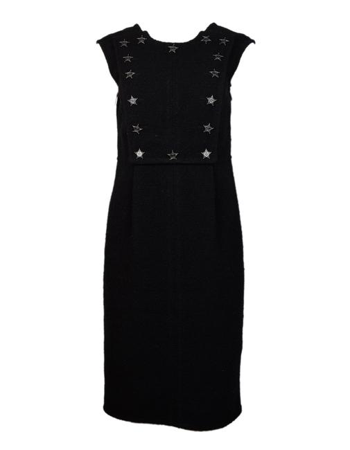 Preload https://img-static.tradesy.com/item/24420358/chanel-black-boucle-sleeveless-w-western-cc-star-panel-40-mid-length-workoffice-dress-size-8-m-0-0-650-650.jpg
