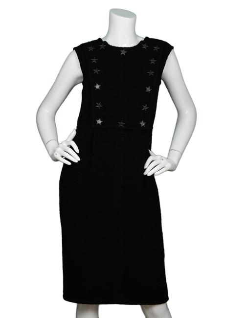 Chanel Star Western Sleeveless Boucle Dress Image 1