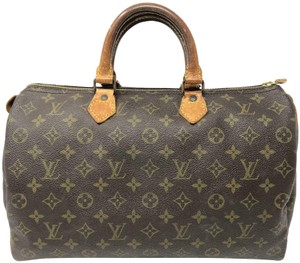 Louis Vuitton Speedy Speedy Speedy Speedy 35 Satchel in Monogram