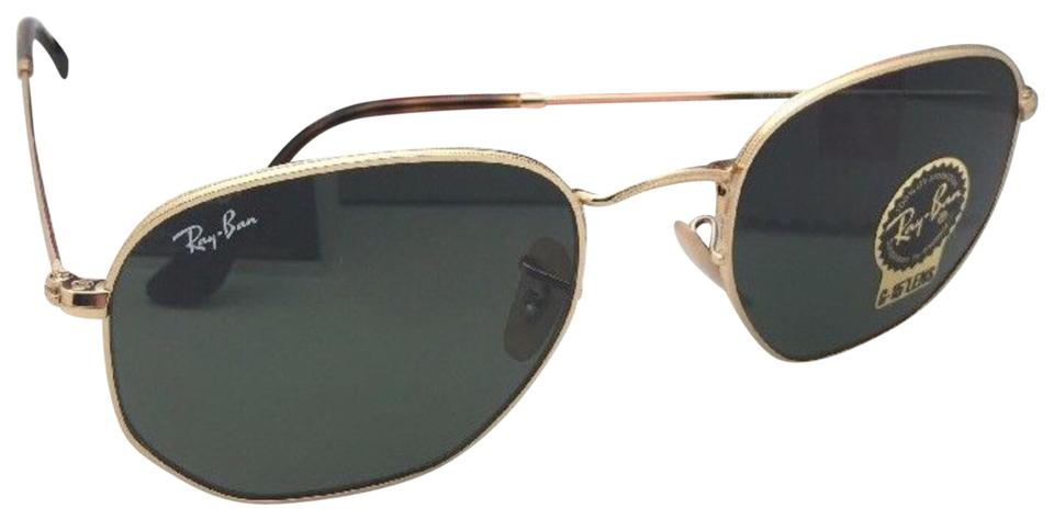 eff26d5567c87 Ray-Ban New Hexagonal Rb 3548-n 001 51-21 145 Gold Frame W G-15 ...