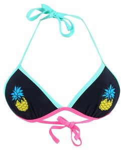 California Waves California Waves Women´s Black, Small Pineapple Patch Push-Up Top