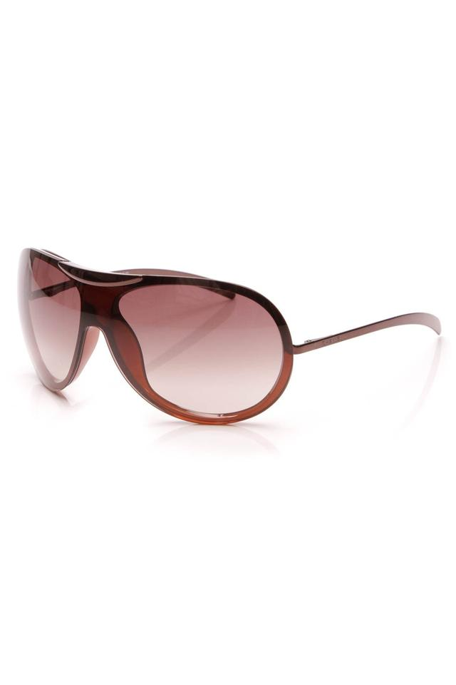 5d68fbc8f7 Chanel Chanel Shield Aviator Sunglasses - Brown ...