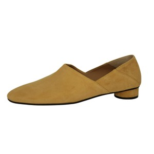 The Row Suede Tan Mules