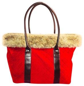 Bath and Body Works Tote in Red