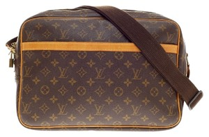 Louis Vuitton Reporter Monogram Cross Body Bag