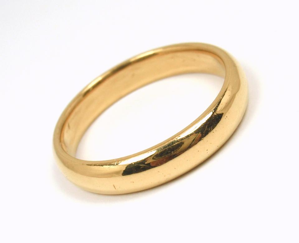 Tiffany Co Rare Antique 22k Yellow Gold 4 4mm Ring Men S Wedding