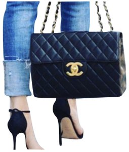 Chanel #chaneljumbobag #vintagechanel #bestpricedchanel #chanellargecc Shoulder Bag
