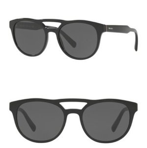 Prada New Prada 54mm Round Aviator Sunglasses