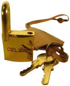 Céline Celine Lock With Clochette Vintage