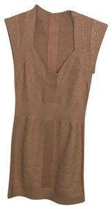 French Connection short dress Rose Gold (Sparkling) on Tradesy