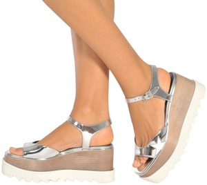 Stella McCartney Silver Sandals