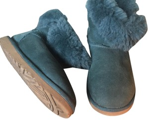 UGG Australia Bailey Button Color Green Boots