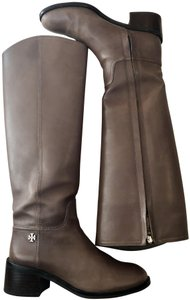 Tory Burch Ridingboots Fultonboots Designer Topo brown Boots