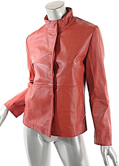 Item - Red Vintage Clean Lined Seam Jacket Size 8 (M)