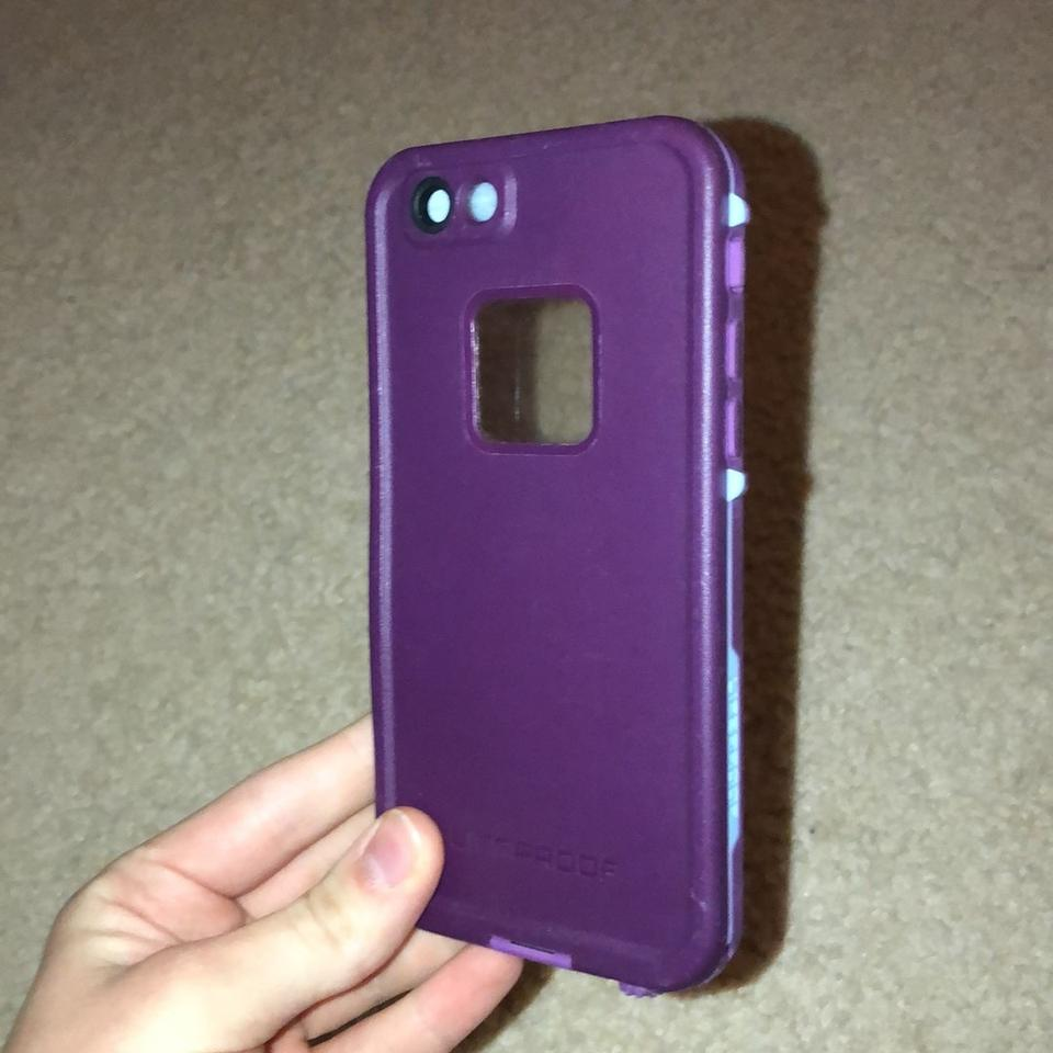 pretty nice f1630 21d15 Lifeproof Crushed Purple Fre Tech Accessory 44% off retail