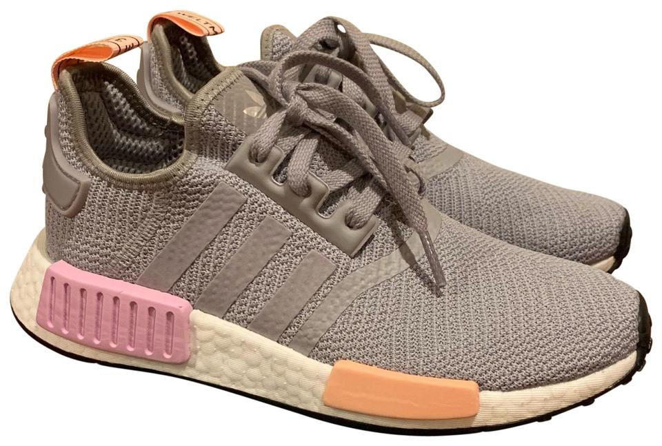 20289605ece1d Gray Nmd R1 Sneakers. Size  US 6.  120.50 Shipping Included. View Original  Listing. adidas Gray Athletic ...