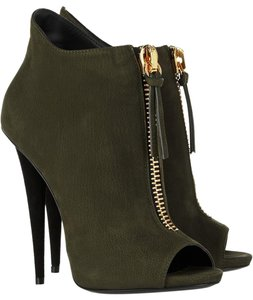Giuseppe Zanotti Ankle Army Green Intermix Olive Boots