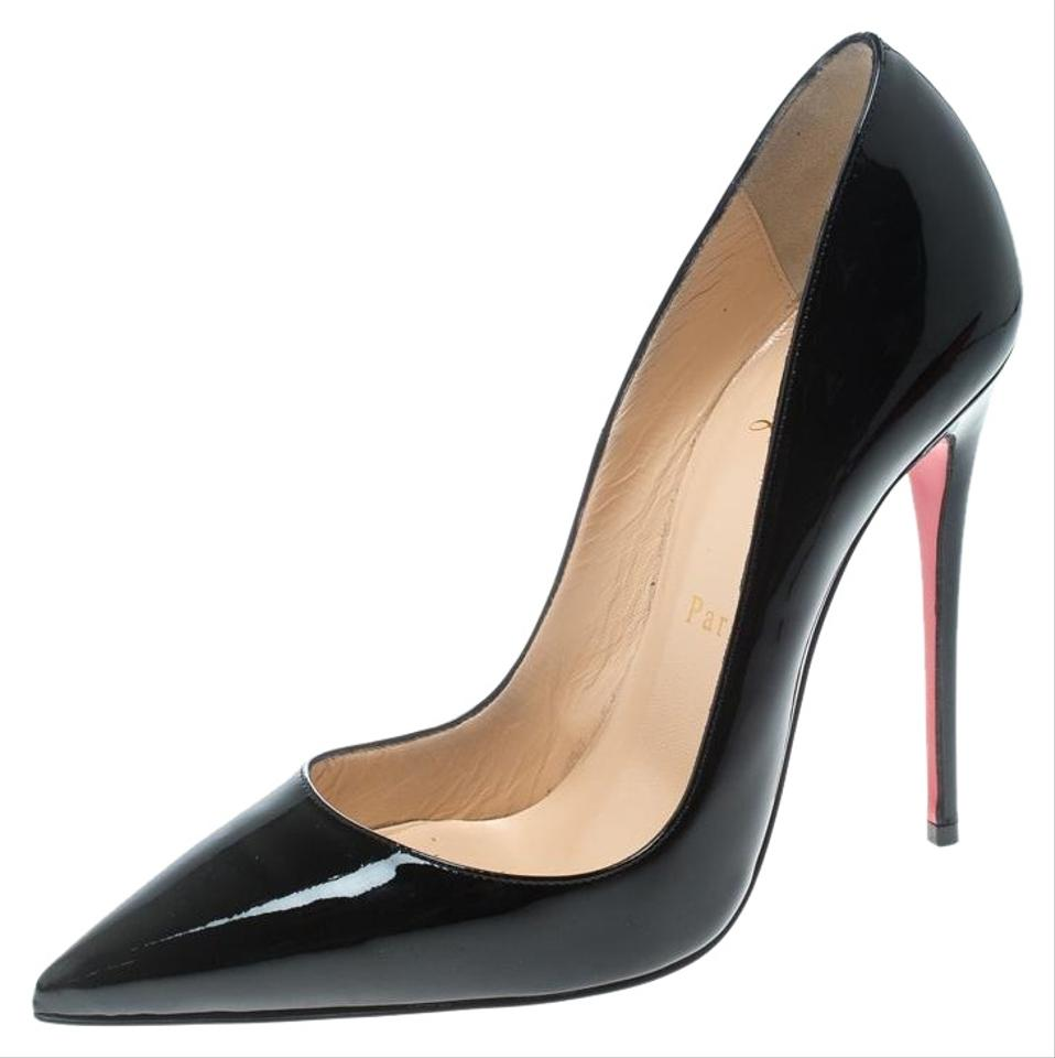 4bebb72152 Christian Louboutin Black Patent Leather So Kate Pointed Pumps Size ...