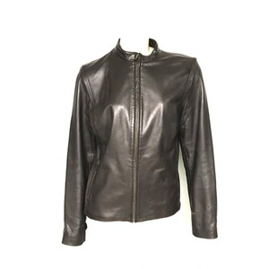Cole Haan brown Leather Jacket