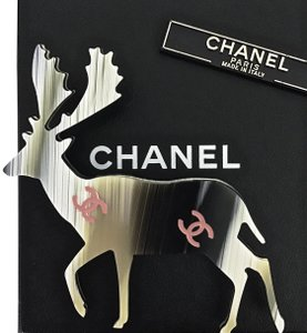 Chanel BRAND NEW ✿*゚ Gorgeous Vintage 2001 Ex Large Reindeer Pin Brooch