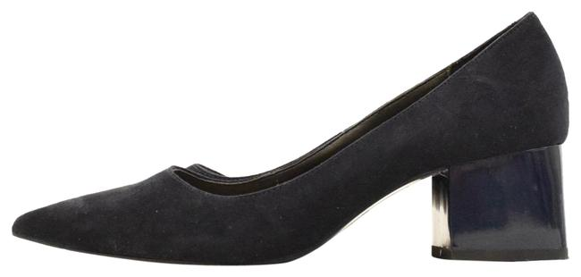 Item - Navy Suede Pumps Size EU 37 (Approx. US 7) Regular (M, B)