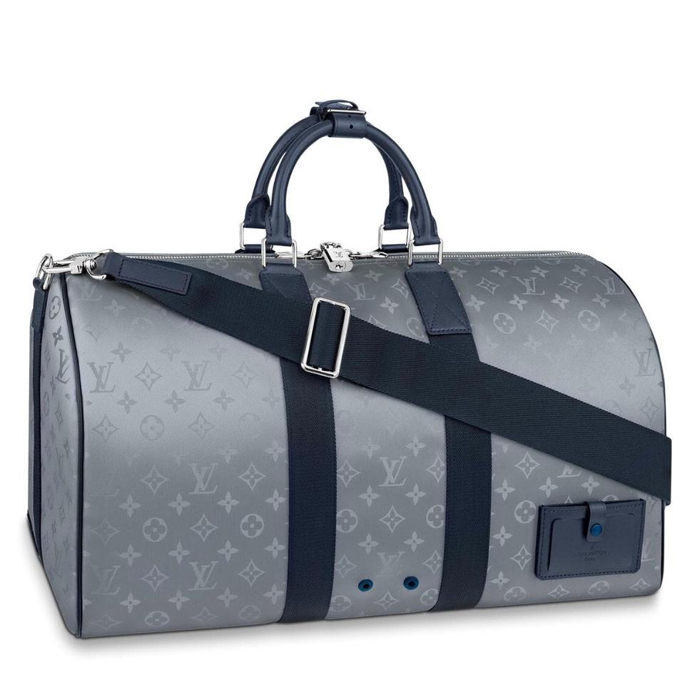 af62af9d583 Louis Vuitton Keepall Bandouliere Keepall Galaxy Keepall 50 Bando Keepall  Galaxy Satellite Canvas Travel Bag Image ...