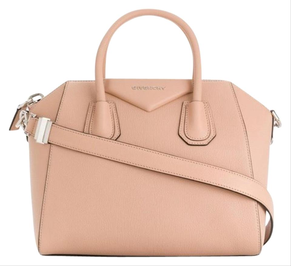 63f2dd6a49 Givenchy Small Sugar Antigona Satche Nude Beige Leather Shoulder Bag ...