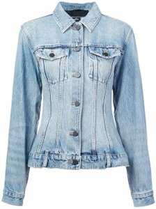 Alexander Wang light wash Womens Jean Jacket