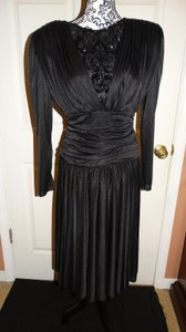 Abby Kent Vintage Sequins Made In Usa Dress