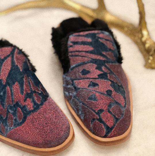 Free People Red Mules Image 3