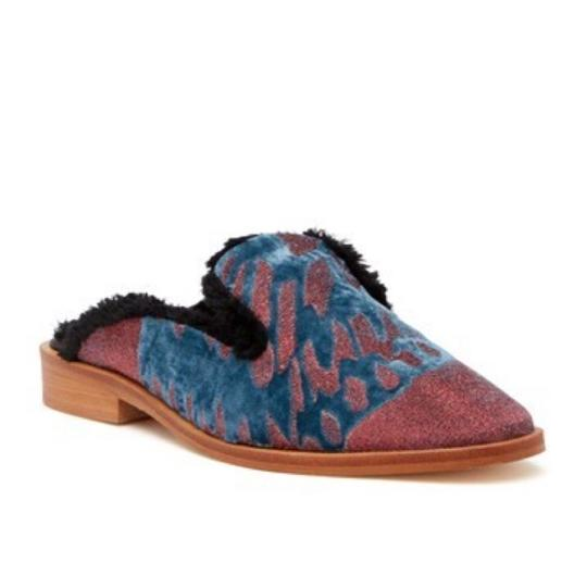 Free People Red Mules Image 7
