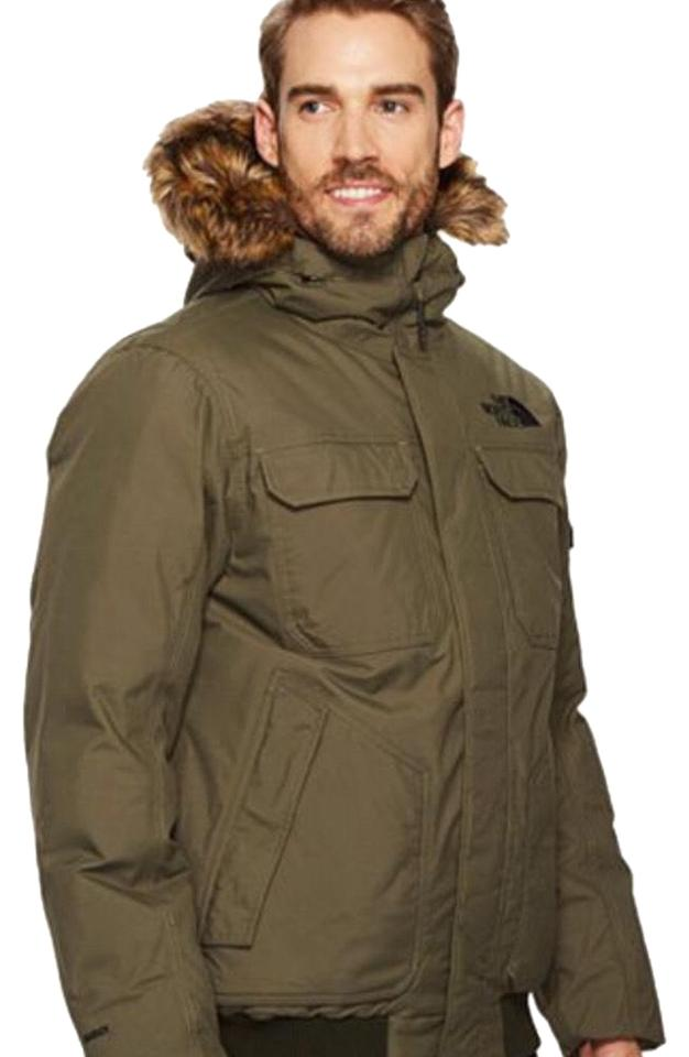 317b44fbdfac The North Face New Taupe Green Gotham Jacket In Large Coat Size 12 ...