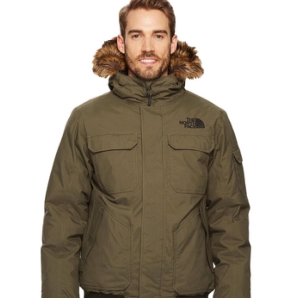 583985ccd816 The North Face New Taupe Green Gotham Jacket In Large Coat Size 12 (L) -  Tradesy